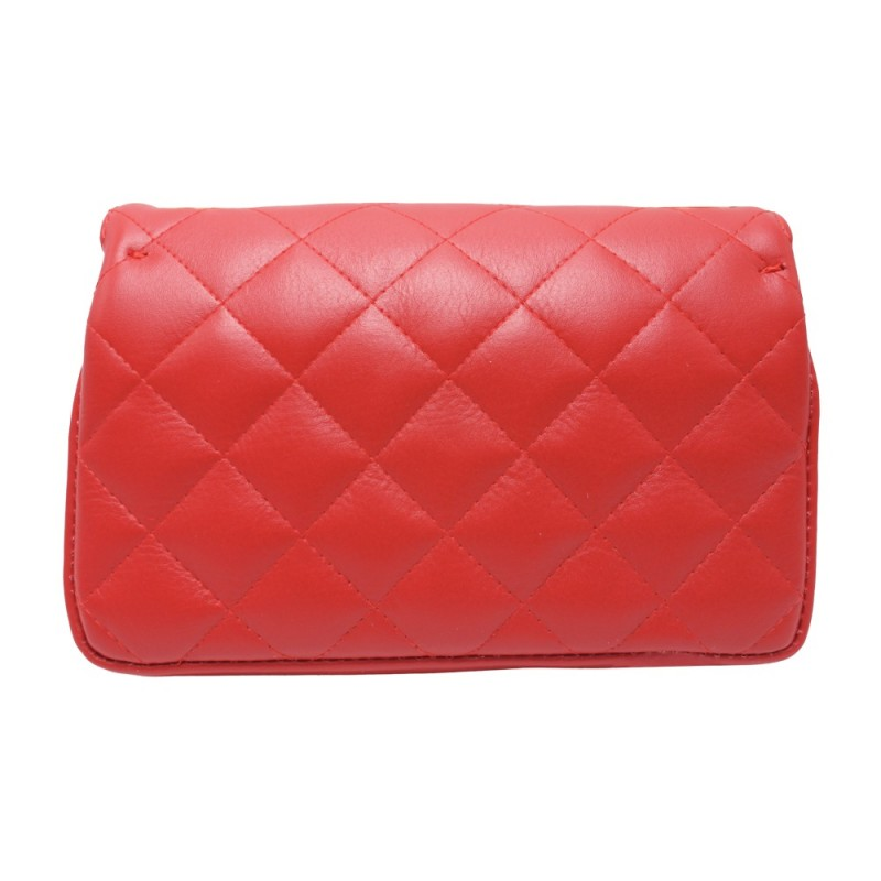 Quilted Shoulder Bag -Made in Italy-