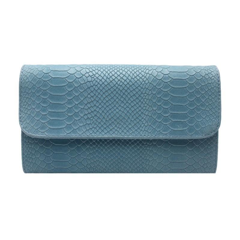 wholesale python print clutch