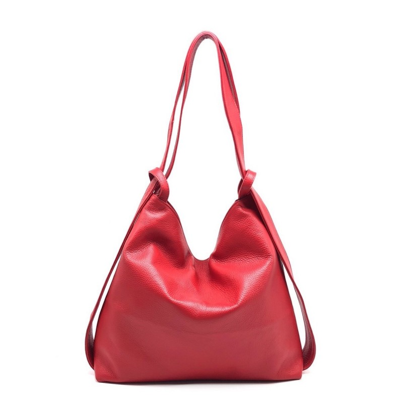 Leather Bag / Backpack -Made in Italy-