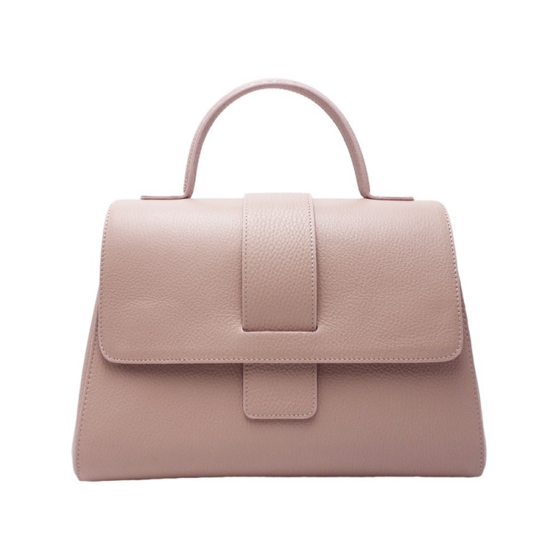 Trapezium Handbag -Made in Italy-