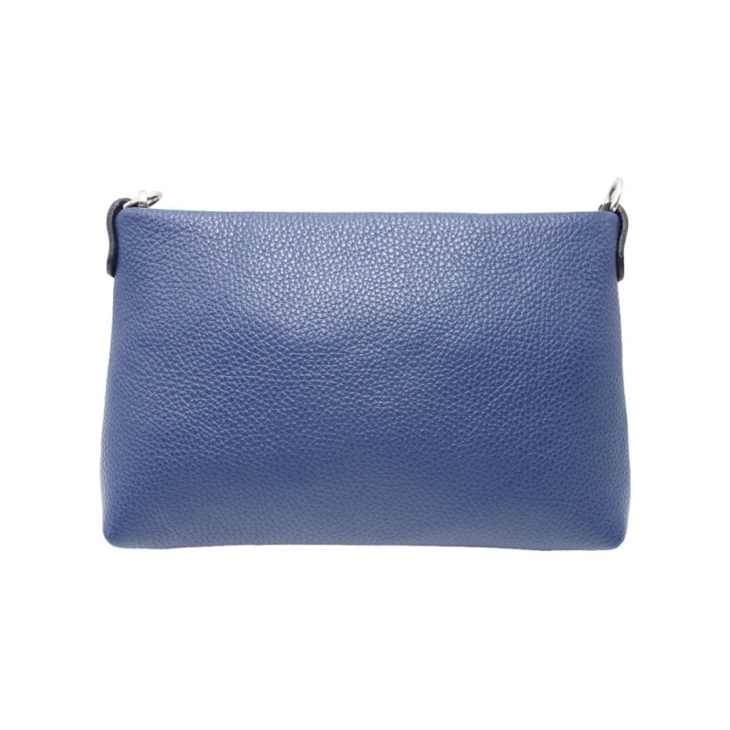 Leather Shoulder Bag -Made in Italy-