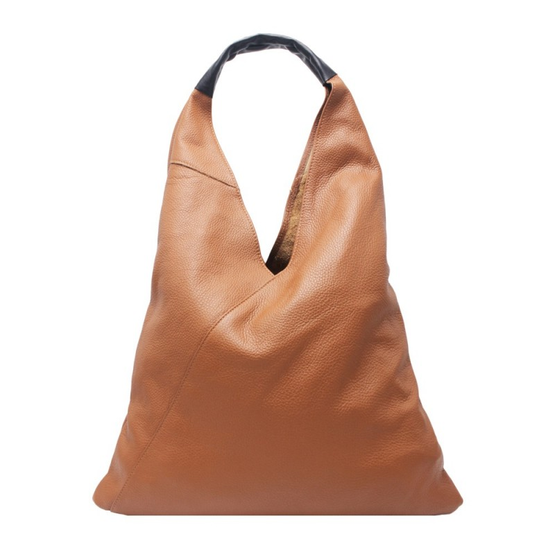 Leather Sack Bag -Made in Italy-