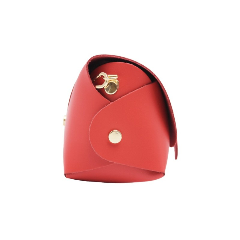 Mini Leather Bag -Made in Italy-