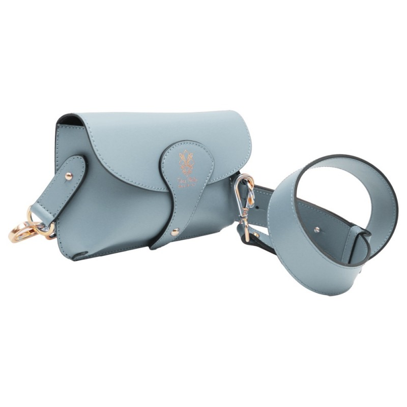 Leather Waist / Shoulder Bag -Made in Italy-