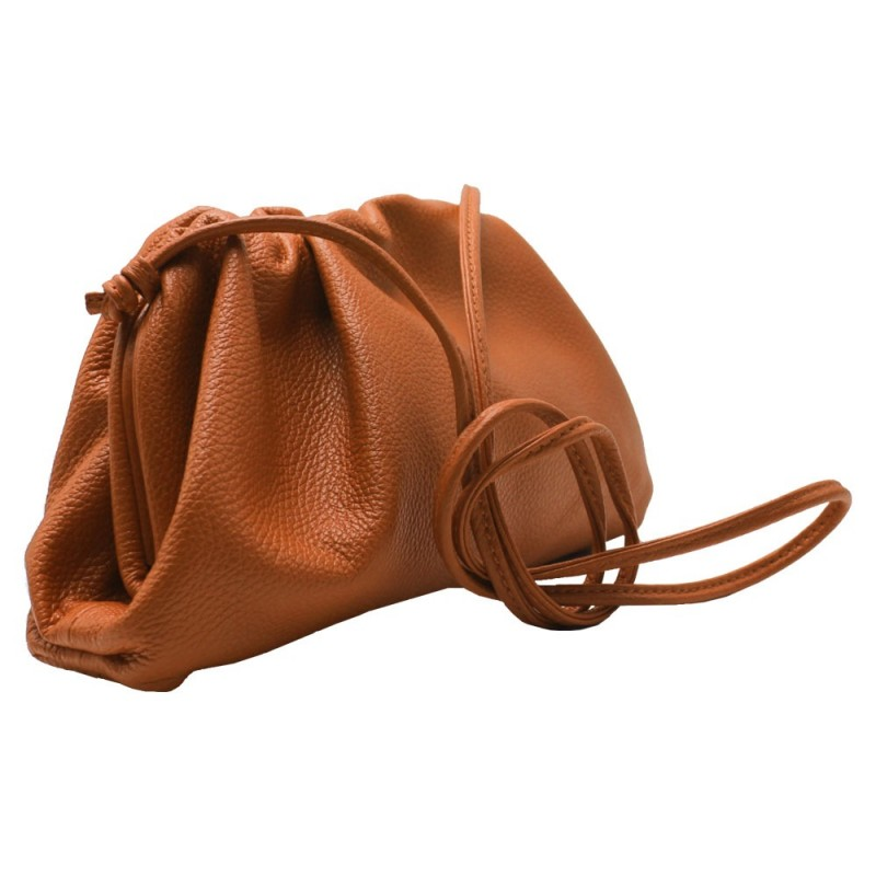 Pouch with Shoulder Strap -Made in Italy-