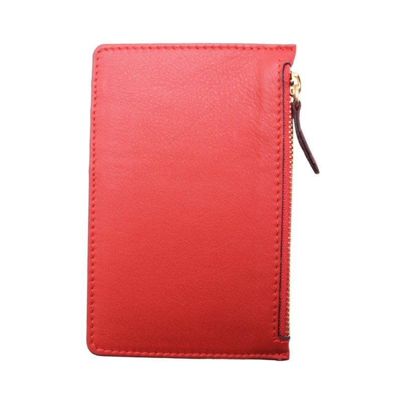 Leather Card Holder -Made in Italy-