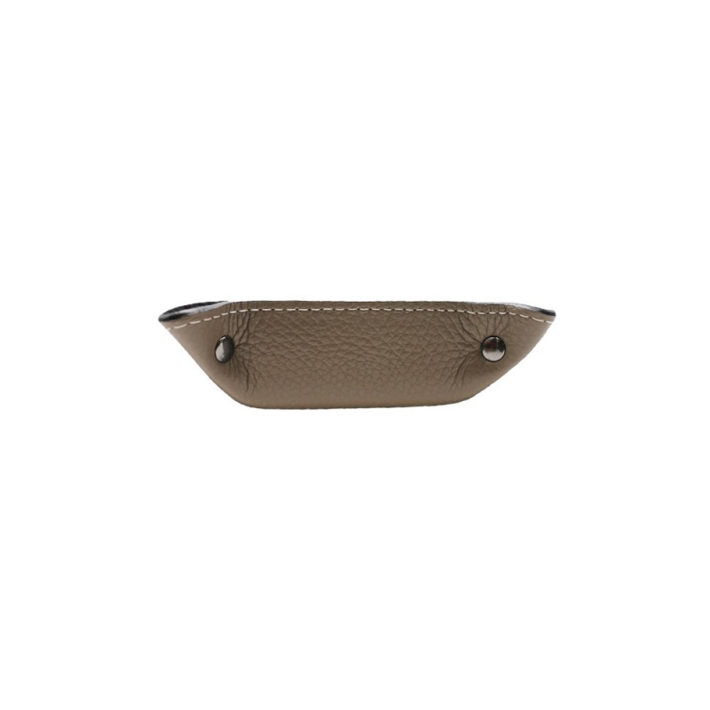 Leather Tray -Made in Italy-