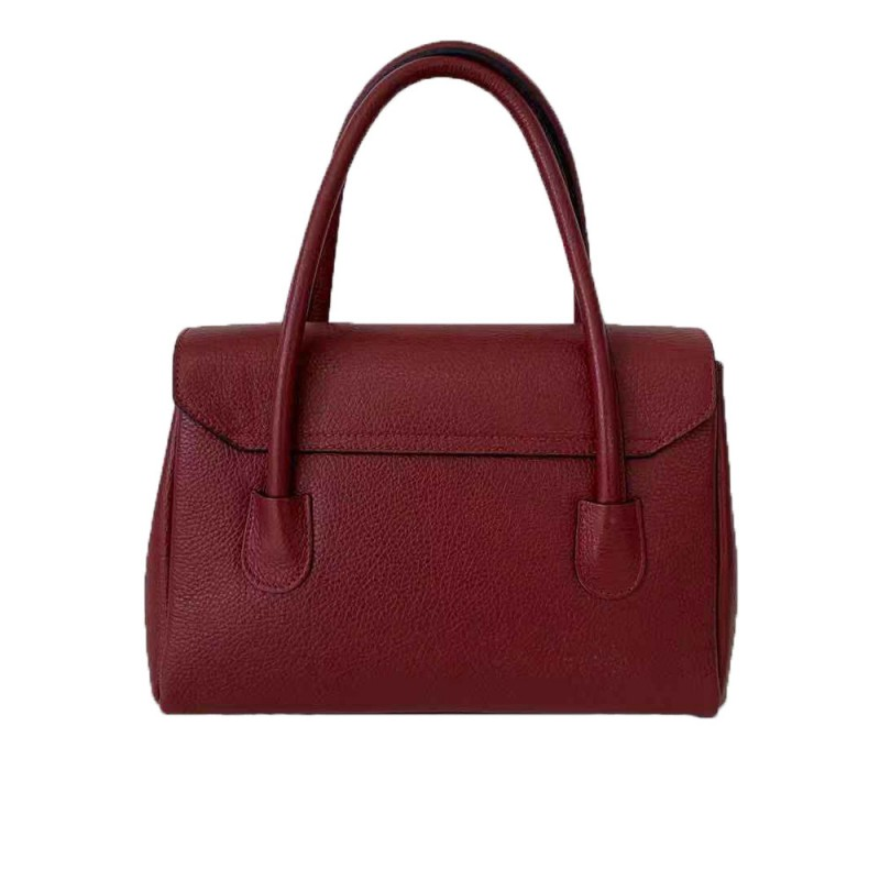 Handbag with Flap -Made in Italy-