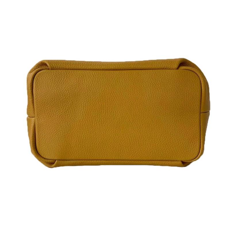 Borsa a Mano in Vera Pelle -Made in Italy-