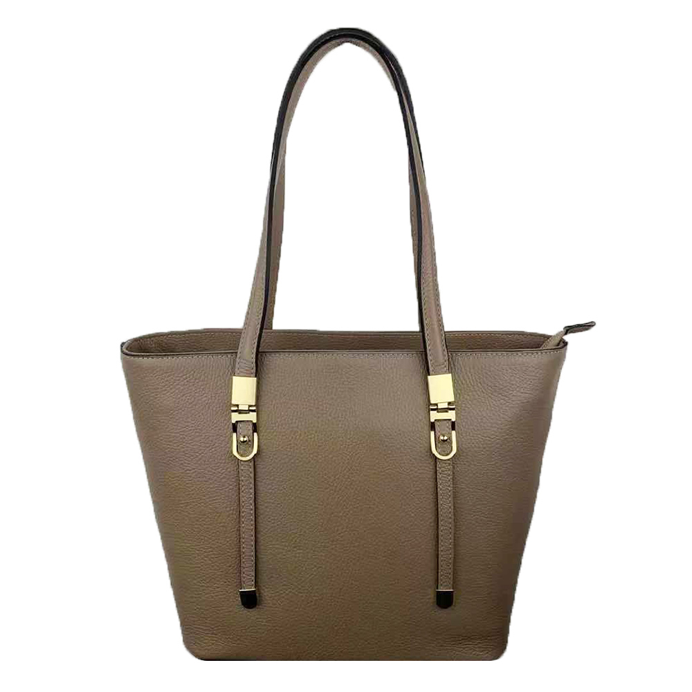 Borsa Shopping in Pelle -Made in Italy- -Made in Italy-