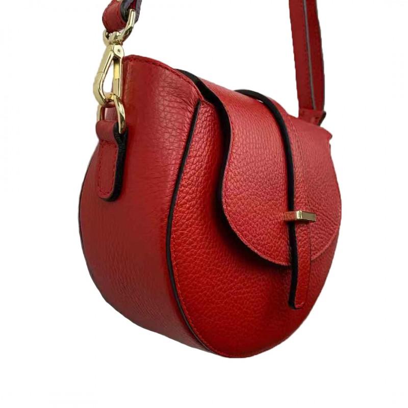 Crescent Shoulder Bag -Made in Italy-