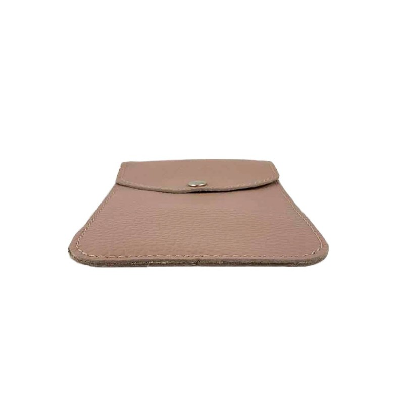 Leather Phone Holder -Made in Italy-