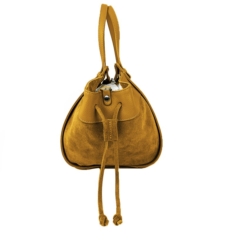 Handbag with Fringes -Made in Italy-