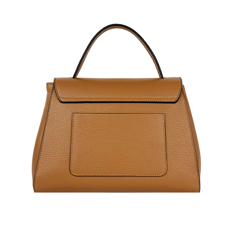 Leather Handbag Large Version -Made in Italy-