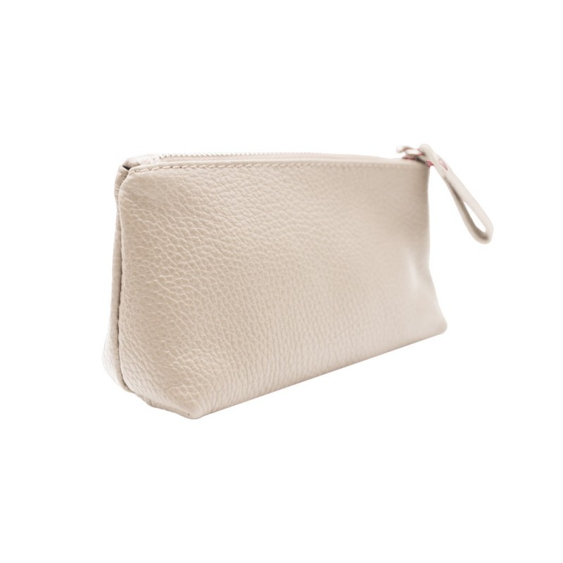 Beauty-Case in Pelle Piccolo -Made in Italy- -Made in Italy-